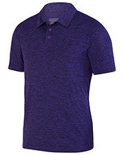 Augusta 5408  Intensity Black Heather Sport Shirt at GotApparel