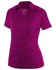 Augusta 5409    Intensity Black Heather Sport Shirt at GotApparel