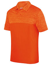 Augusta 5412 Men Shadow Tonal Heather Sport Shirt at GotApparel