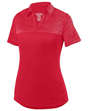 Augusta 5413 Women Shadow Tonal Heather Sport Shirt at GotApparel