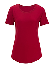 Edwards 5420  Ladies' Drop-Neck Short Sleeve at GotApparel