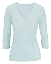 Edwards 5430  Ladies' 3/4 Sleeve Crossover K at GotApparel