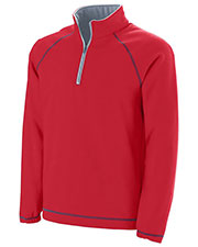 Augusta 5445 Adult Circuit HalfZip Pullover at GotApparel