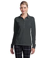 Nike 545322 Ladies 5 oz Long Sleeve Dri-FIT Stretch Tech Polo at GotApparel
