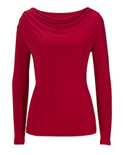Edwards 5460  Ladies' Cowl Neck Long Sleeve at GotApparel