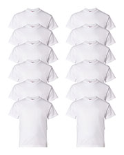 Hanes 5480 Boys 5.2 Oz. Comfort Soft Cotton T-Shirt 12-Pack at GotApparel