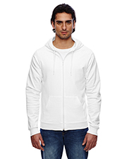 American Apparel 5497W Men California Fleece Zip Hoodie at GotApparel