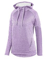 Augusta 5556 Women Zoe Tonal Heather Hoody at GotApparel