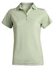 Edwards 5575 Women Tipped Collar Short Sleeves Polo at GotApparel