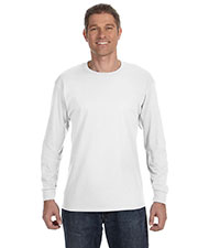 Hanes 5586 Men 6.1 oz. Tagless ComfortSoft LongSleeve T-Shirt at GotApparel