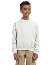 Jerzees 562B Boys 8 oz., 50/50 NuBlend Fleece Crew at GotApparel