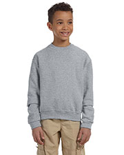 Jerzees 562B Boys 8 Oz. 50/50 Nublend Fleece Crew at GotApparel