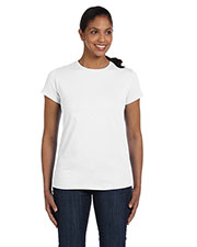 Hanes 5680 Women 5.2 oz. ComfortSoft Cotton T-Shirt at GotApparel