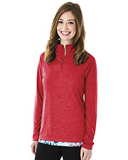 Charles River Apparel 5763 Women Space Dye Performance Pullover at GotApparel