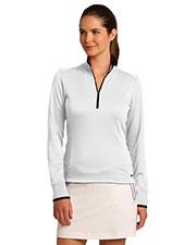 Nike 578674 Ladies 8.3 oz Dri-FIT 1/2-Zip Cover-Up at GotApparel
