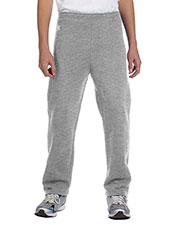 Russell Athletic 596HBB Boys DriPower Fleece Open-Bottom Pant at GotApparel