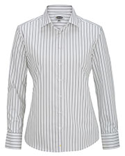 Edwards 5983 Women Long Sleeve Patterned Dress Shirt at GotApparel