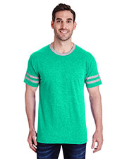 Jerzees 602mr  4.5 Oz. Tri-Blend Varsity Ringer T-Shirt at GotApparel
