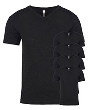 Next Level 6040 Men Tri-Blend V-Neck 5-Pack at GotApparel