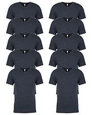 Next Level 6040 Men Tri-Blend V-Neck 10-Pack at GotApparel