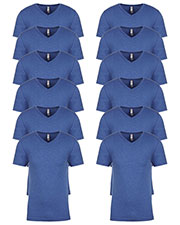 Next Level 6040 Men Tri-Blend V-Neck 12-Pack at GotApparel