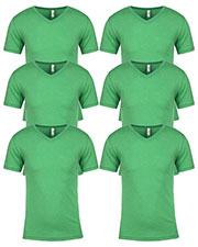 Next Level 6040 Men Tri-Blend V-Neck 6-Pack at GotApparel