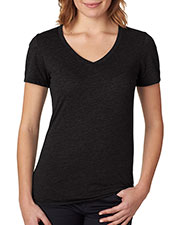Next Level 6044 Women The Poly/Cotton V at GotApparel