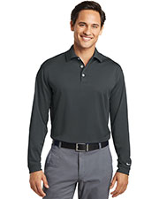 Nike 604940 Men 5 oz Tall Long Sleeve Dri-FIT Stretch Tech Polo at GotApparel