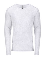 Next Level 6071 Men Tri-Blend Long-Sleeve Crew Tee at GotApparel