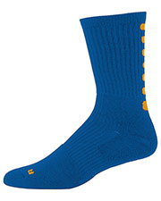 Augusta 6090 Boys Color Block Crew Compression Sock (79) at GotApparel