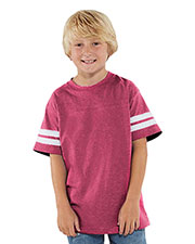 LAT 6137 Boys Football Tee at GotApparel