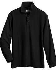 Tri-Mountain 615 Men Enterprise Easy Care Knit Shirt With Snap Closure at GotApparel