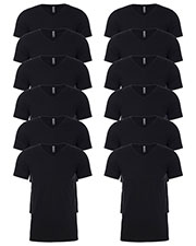 Next Level 6240 Men Premium Cvc V-Neck Tee 12-Pack at GotApparel