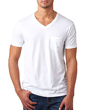 Next Level 6245 Men CVC Tee with Pocket at GotApparel