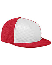 Augusta 6256 Boys Athletic Mesh Flat Bill Cap at GotApparel