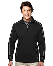 TRI-MOUNTAIN GOLD 627 Men Durham 1/4 Zip Long Sleeve Knit Shirt at GotApparel