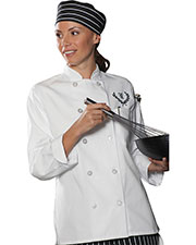 Edwards 6301 Women's Chef Coat at GotApparel