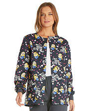 Tooniforms 6350C Women Snap Front Warm-Up Jacket at GotApparel