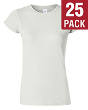 Gildan G640L Women Softstyle 4.5 Oz. Fit T-Shirt 25-Pack at GotApparel