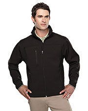 TM Performance 6400 Men's Stretch Bonded Soft Shell Jacket at GotApparel