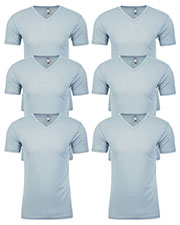 Next Level 6440 Men Premium Fitted Sueded V-Neck Tee 6-Pack at GotApparel
