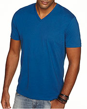 Next Level 6440 Men Premium Fitted Sueded V-Neck Tee at GotApparel