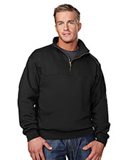 Tri-Mountain 644 Men's React 1/4 Zip Firefighter's Work Shirt at GotApparel
