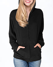 Next Level 6491 Adult Unisex Sueded Full Zip Hoody at GotApparel