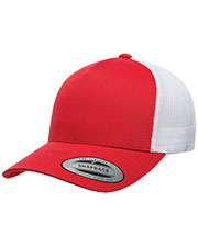 Yupoong 6506  5-Panel Retro Trucker Cap at GotApparel