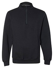 Russell Athletic 1z4hbm  Dri Power  Quater-Zip Cadet Collar Sweatshirt at GotApparel