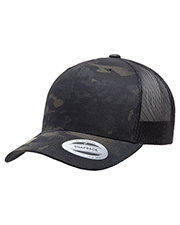 Yupoong 6606MC Retro Trucker Multicam Snapback at GotApparel