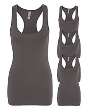 Next Level 6633 Women The Jersey Racerback Tank 4-Pack at GotApparel