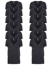 Next Level 6640 Women Cvc Deep V 12-Pack at GotApparel