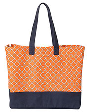 Brookson Bay Bb400  Full-Pattern Beach Tote at GotApparel